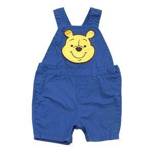 Vintage Disney Winnie The Pooh Shortalls